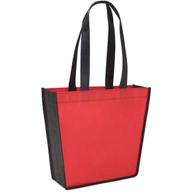 Imprinted Poly Pro Trapeze Tote
