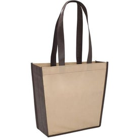 Poly Pro Trapeze Tote Branded with Your Logo