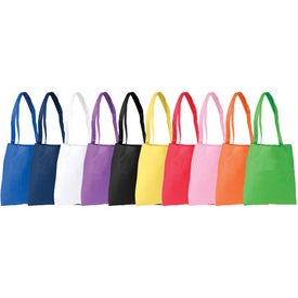 Monogrammed Poly Pro Flat Tote Bag