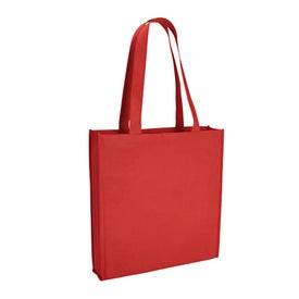 Branded Poly Pro Tote with Gusset