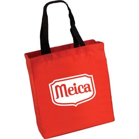 Polyester Trade Show Tote with Your Slogan