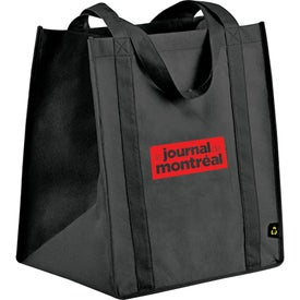 PolyPro Big Grocery Tote Printed with Your Logo