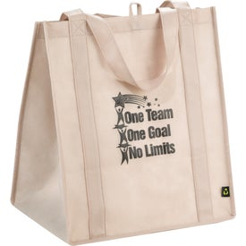 PolyPro Big Grocery Tote Imprinted with Your Logo