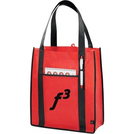 Imprinted PolyPro Contrast Carry-All Tote