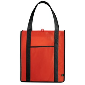 PolyPro Contrast Carry-All Tote for Advertising