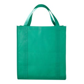 PolyPro Large Foldable Snap Tote Branded with Your Logo