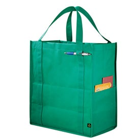 PolyPro Large Foldable Snap Tote for Promotion