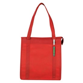 Logo PolyPro Little Grocery Tote
