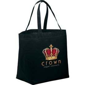 PolyPro Non-Woven Budget Shopper Tote Bag for your School