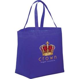 Promotional PolyPro Non-Woven Budget Shopper Tote Bag