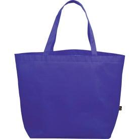 PolyPro Non-Woven Budget Shopper Tote Bag for Marketing
