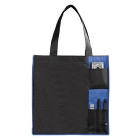 PolyPro Non Woven Pocket Tote for Advertising
