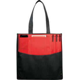 PolyPro Non-Woven Panel Convention Tote for Advertising