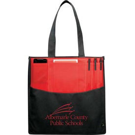 Monogrammed PolyPro Non-Woven Panel Convention Tote