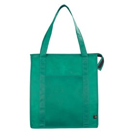 Custom PolyPro Non Woven Zippered Big Grocery Tote