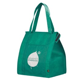 Personalized PolyPro Non Woven Zippered Big Grocery Tote