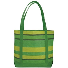 Poly Pro Patterned Boat Tote Bag with Your Logo
