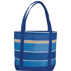 Company Poly Pro Patterned Boat Tote Bag