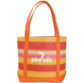 Poly Pro Patterned Boat Tote Bag