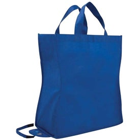 Customized Poly Pro Shop-N-Fold Cold Tote Bag