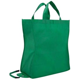 Custom Poly Pro Shop-N-Fold Tote Bag