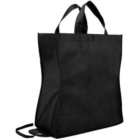 Branded Poly Pro Shop-N-Fold Tote Bag