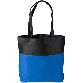 Poly Pro Two-Tone Tote Bag for Your Organization