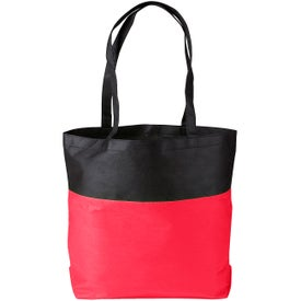 Custom Poly Pro Two-Tone Tote Bag