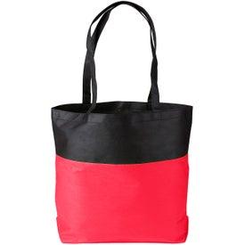 Custom Poly Pro Two-Tone Tote Bag