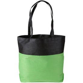 Poly Pro Two-Tone Tote Bag for Advertising