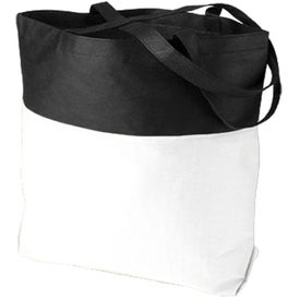 Poly Pro Two-Tone Tote Bag Giveaways