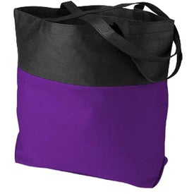 Advertising Poly Pro Two-Tone Tote Bag