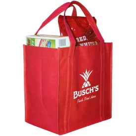 Polytex Grocery Tote for Advertising