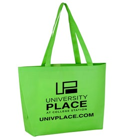 Imprinted Polytex Large Convention Tote