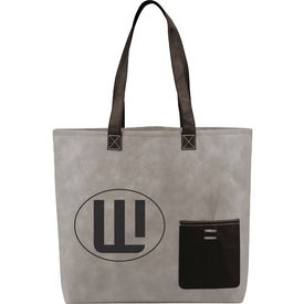 Customized Pop Pocket Convention Tote