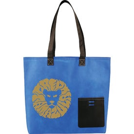 Monogrammed Pop Pocket Convention Tote