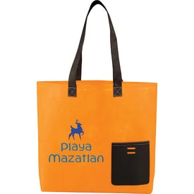 Personalized Pop Pocket Convention Tote