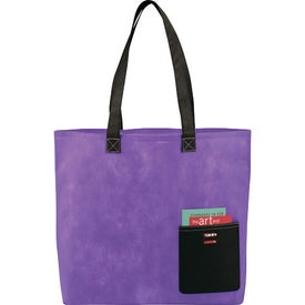 Pop Pocket Convention Tote Printed with Your Logo