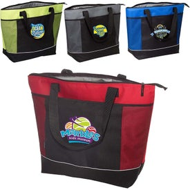 Porter Polyester Shopping Cooler Tote Bag