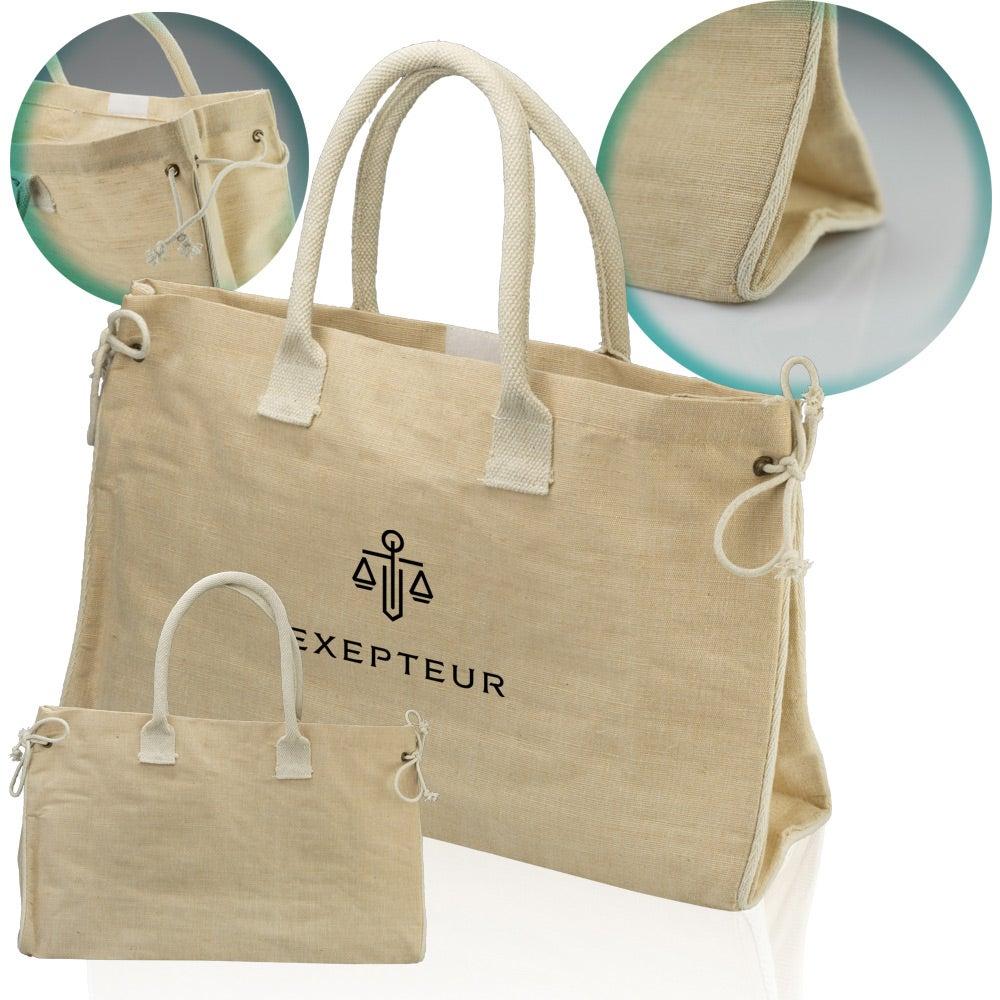 Portland Laminated Juco Tote Bag