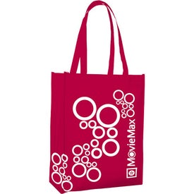 Portrait Tote with Your Slogan