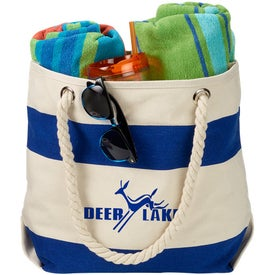 Portsmouth Cotton Canvas Boat Tote Bag