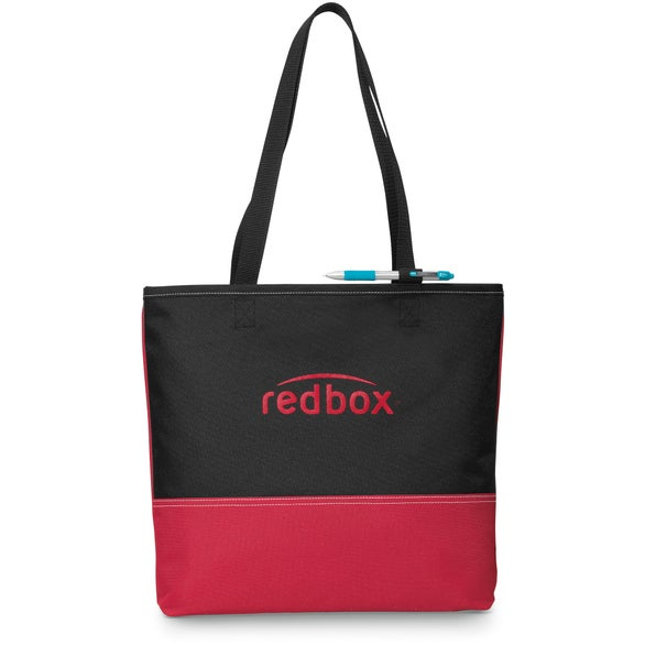 Red / Black Prelude Convention Tote Bag