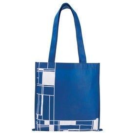 Monogrammed Printed Poly Pro Tote