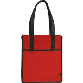 Chevron Shopper Tote Bag for Your Church