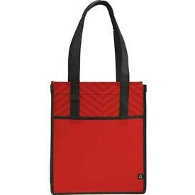 Chevron Shopper Tote Bag for Your Church