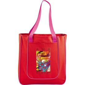 Advertising Punch Tablet Tote Bag