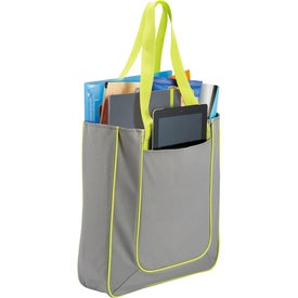 Personalized Punch Tablet Tote Bag
