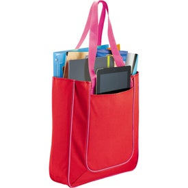 Imprinted Punch Tablet Tote Bag