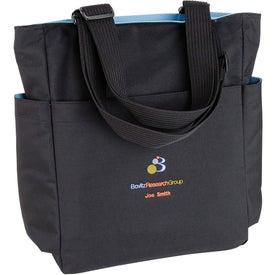 Monogrammed Quad Access Tote Bag